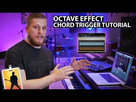 MainStage Tutorial: How to Add an Octave Effect Using Chord Trigger