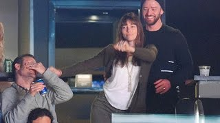 Justin Timberlake Adorably Dances with Jessica Biel at Grizzlies Game