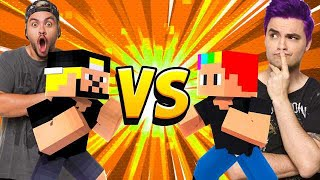 KIT DO LUCCAS NETO VS KIT DO FELIPE NETO NO MINECRAFT