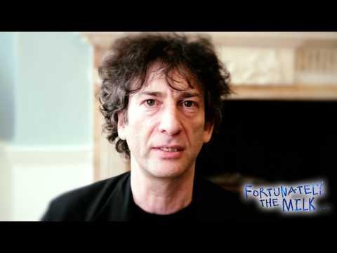 Neil Gaiman's inspiration behind Fortunately, The Milk . . .