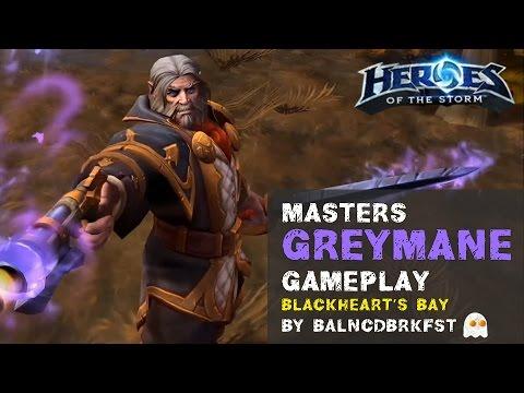 Heroes of the Storm Ranked Gameplay - Greymane Hybrid Cocktail Build
