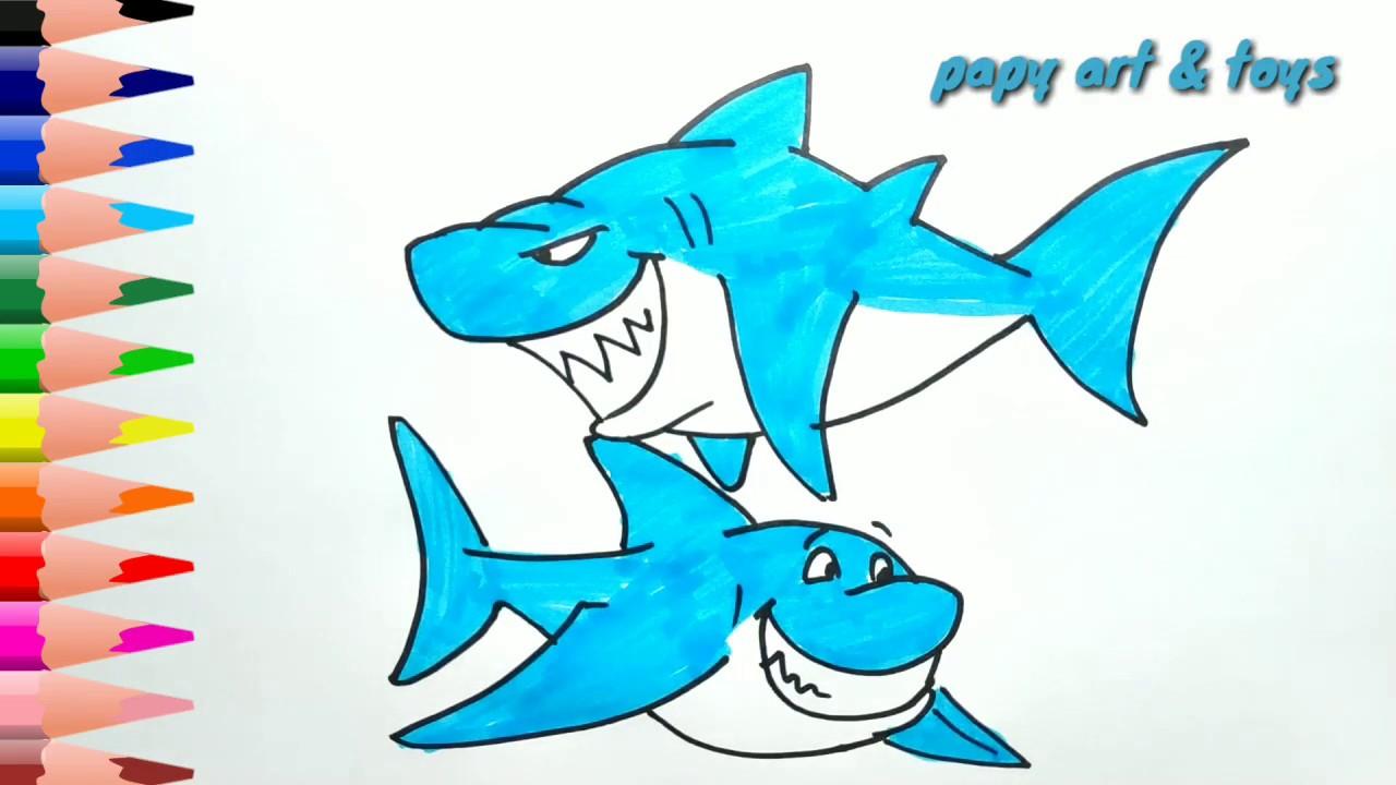 6200 Gambar Ikan Hiu Mudah Gratis Terbaik