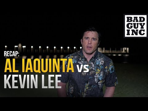 Al Iaquinta vs Kevin Lee: Here's what we learned…