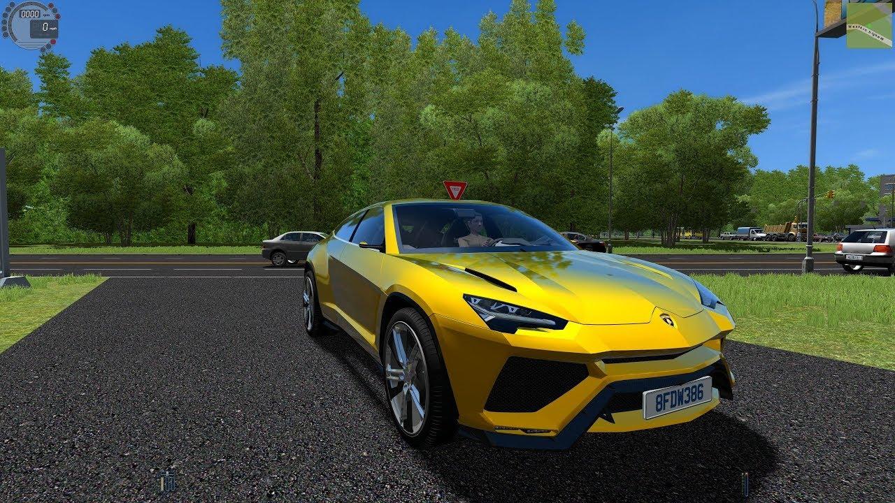 City Car Driving 1 5 5 Lamborghini Urus 4k Dl Link Youtube