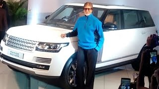 Amitabh Bachchan Receives Latest Car Range Rover Autobiography LWB