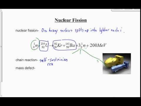 (508-P3015S) Nuclear Fission and Fusion