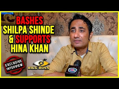 """Zubair Khan says """"I Was Told I Will Be In Top 3"""", Bashes Shilpa Shinde & Supports Hina Khan"""