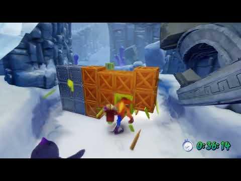 Crash Bandicoot 2: Cortex Strikes Back N. Sane Trilogy - Snow Go (Gold Time Trial Relic)