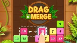 Drag n Merge - Gameplay Trailer (iOS, Android)