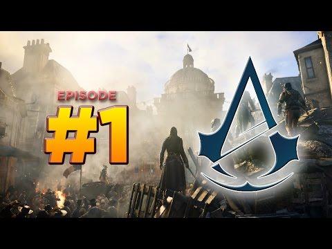 Assassin's Creed Unity - Walkthrough Part 1 [Memories of Versailles] - THE BEGINNING [ACU]