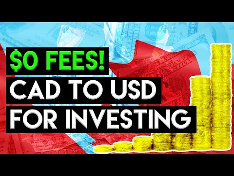 NORBERT GAMBIT On Questrade -  Avoid Forex Fees!