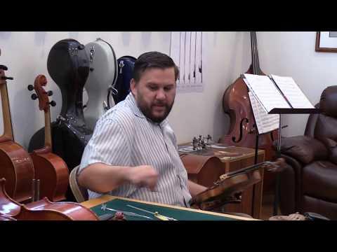 Utahns in Old Professions: Luthier/Violin maker