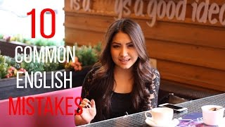 10 COMMON ENGLISH MISTAKES(These common errors in English are made by students of all levels, from beginner to advanced. Here are some quick explanations and tips about how to avoid ..., 2016-04-15T16:06:41.000Z)