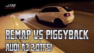 Remap Vs Piggyback: Audi A3 Sport 2.0 TFSI