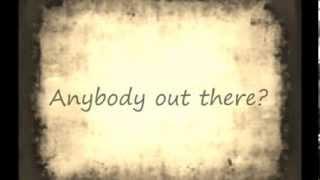 """Echo"" By Jason Walker (Lyrics)"