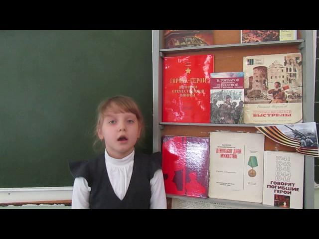 Изображение предпросмотра прочтения – УльянаШампорова читает произведение «Баллада о матери» О.Н.Киевской