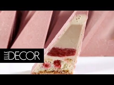 This Cake Is A Geometric Masterpiece And Is The Coolest Thing You'll See All Day! | ELLE Décor