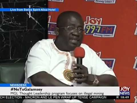 #NoToGalamsey - News Desk on Joy News (5-5-17)