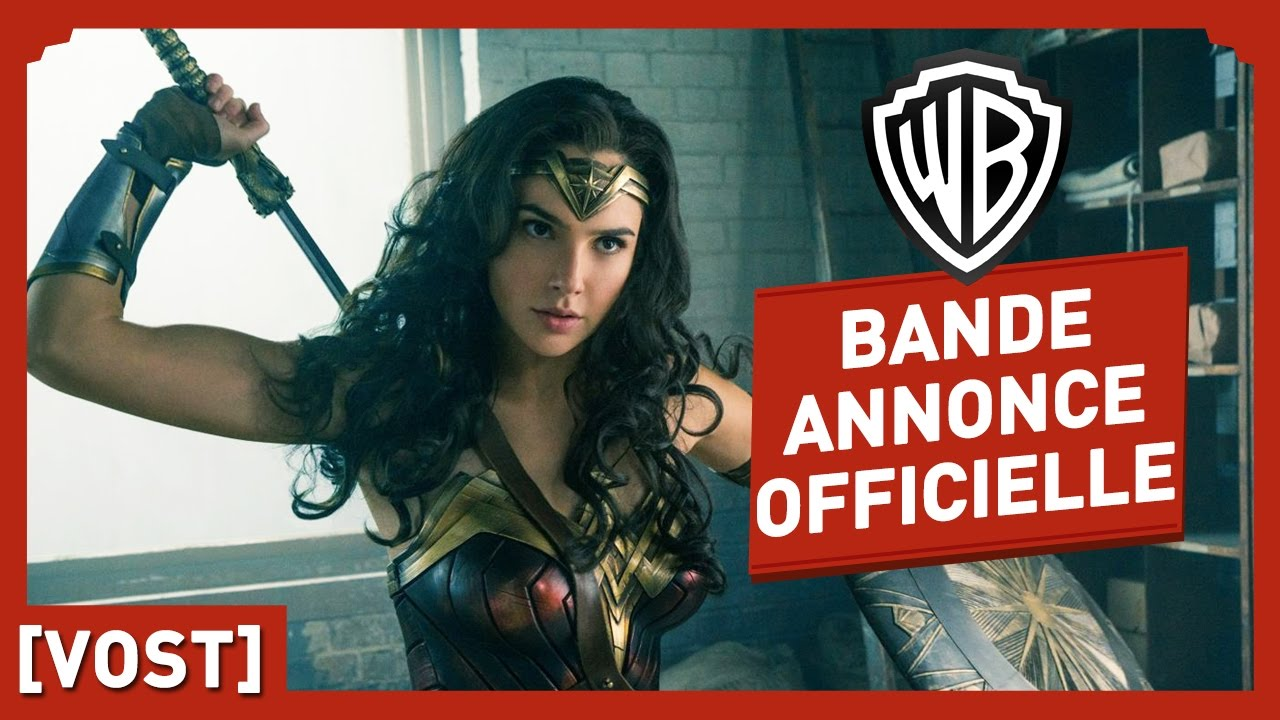 Wonder Woman - Bande Annonce Officielle 2 (VOST) - Gal Gadot