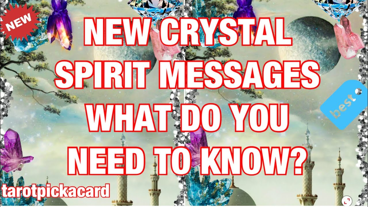 New Spirit messages   what you need to know now🔮tarot pickacard