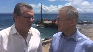 While on Norfolk Island, I met with the island's administrator @GaryHardgrave about upgrades to Cascade Pier. https://youtu.be/AT7kiSzgpUk