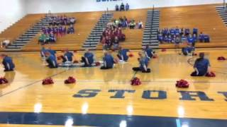 Bureau Valley Dance Team-Competition