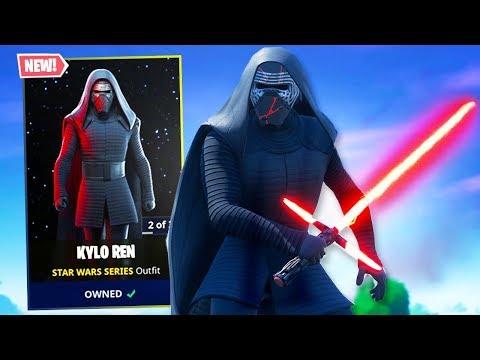 Fortnite *NEW* Item Shop! KYLO REN SKIN IS AMAZING! (Fortnite Star Wars Item Shop)