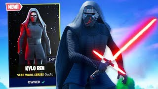 Fortnite *NEW* Item Shop! KYLO REN SKIN IS AMAZING! (Fortnite Star Wars Item Shop)