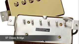 Gibson Pickups Comparison Test Demo