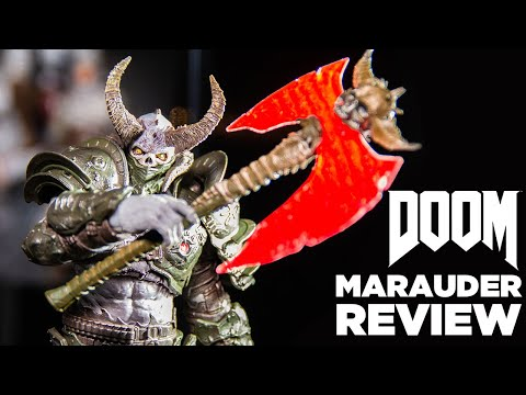 Doom Eternal Marauder Action Figure Review Mcfarlane Toys Youtube