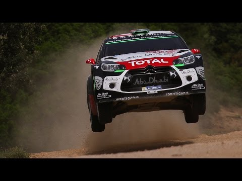 WRC Rally Italia Sardegna 2015 - Jumps & Pure Sound [HD]