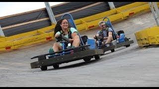 Fun Spot USA The Vortex Go Karts POV and Off Ride Shots Kissimmee Florida