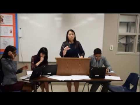 Public Forum Demo Debate 2015