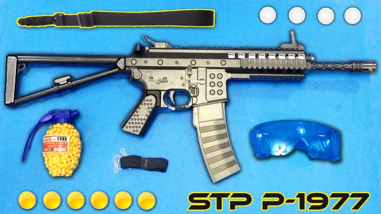 Realistic Airsoft Gun P 1977 Plastic Ball Bullet Toy Gun