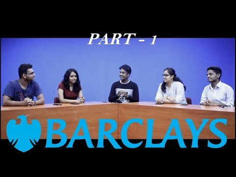 Barclays 2018 - Freshers - Aptitude & Coding Experience - Part 1 | Placement Strata