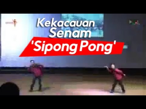Senam 'Sipong Pong' Resolusi Pemuda -Tenda Visi