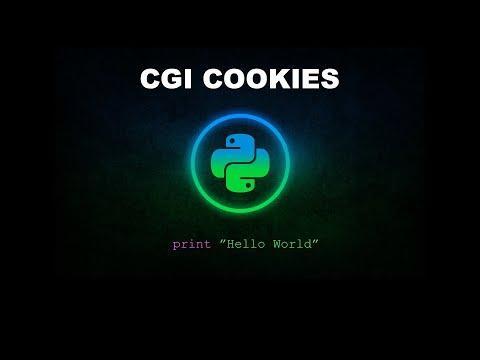 CGI Cookies - Python Programming