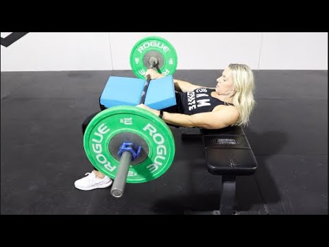 How To Lift: The Barbell Hip Thrust