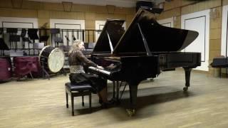 D.Shostakovich Prelude and fugue №24 d-moll op.87, Anna Paklina