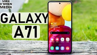 SAMSUNG GALAXY A71 (Full Review!) 2020