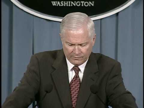 OASD: DoD News Briefing with Secretary Robert Gates from the