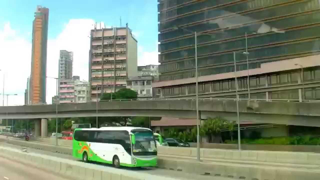 香港自由行 - 九龍城富豪東方酒店及A22機場巴士上車站往機場方向 - YouTube