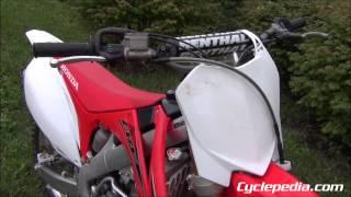 2012 Хонда CRF250R онлайн керівництво по ремонту по Cyclepedia