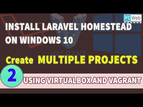 Create Multiple Laravel Projects Using Homestead In Windows 10   Tutorial 2