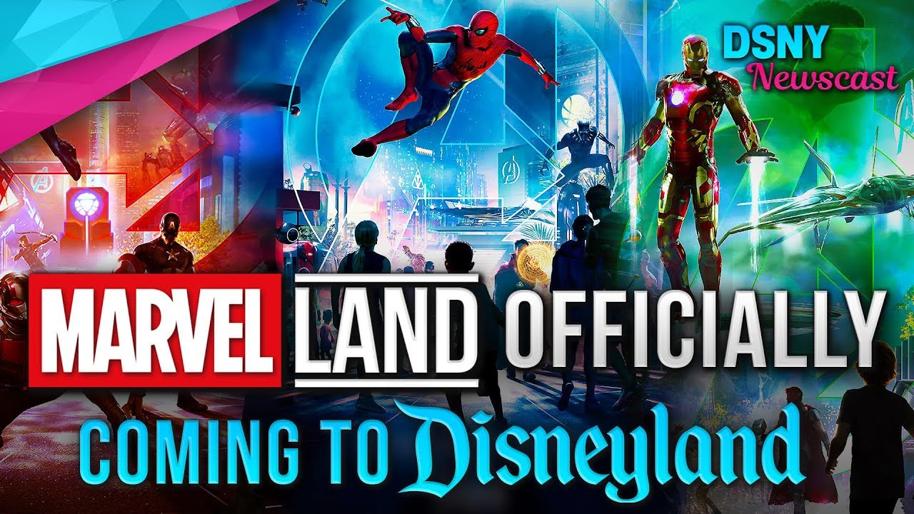 Marvel Land Officially Announced For Disneyland Resort Disney News