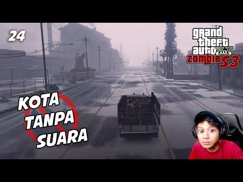 "GTA 5 ZOMBIE S3 E24   SEKALI"" KE UJUNG MAP NYELAMETIN ORANG DI SANA thumbnail"