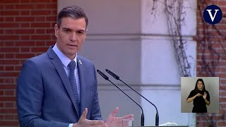 """Sánchez muestra su """"rechazo"""" a las """"conductas incívicas"""" del rey emérito"""