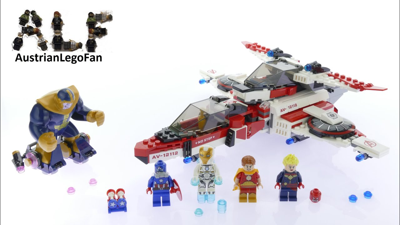 Lego Super Heroes 76049 Avenjet Space Mission - Lego Speed ...