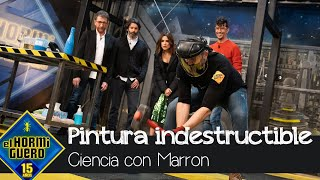 Marron trae la pintura indestructible - El Hormiguero