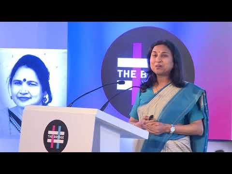 Presentation by Academic Bina Agarwal on Property, Inheritance and Women's rights at The Bridge 2018